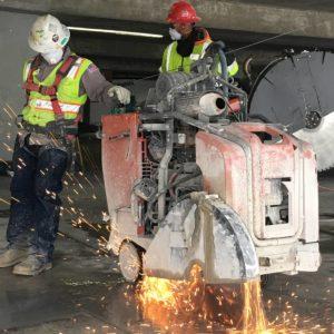 Diesel-Flat-Sawing